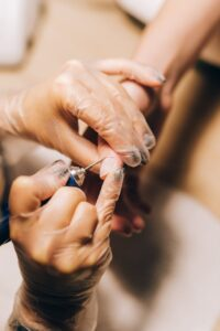 AVOID CUTTING YOUR CUTICLES