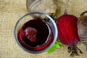 BEETROOT JUICE for hair