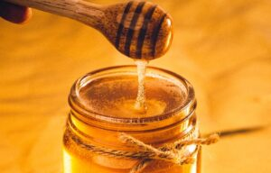 HONEY for argan oil smell