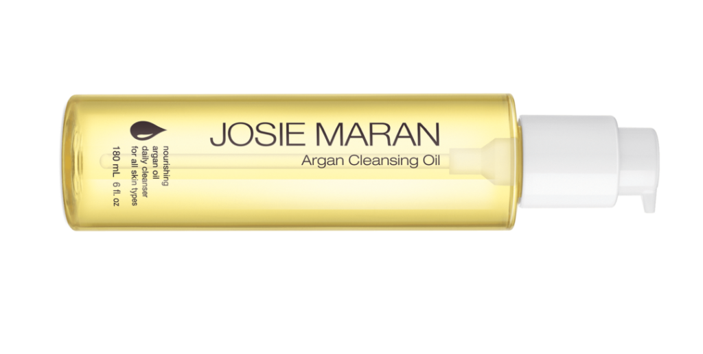 JOSIE MARAN CLEANSING OIL bottle