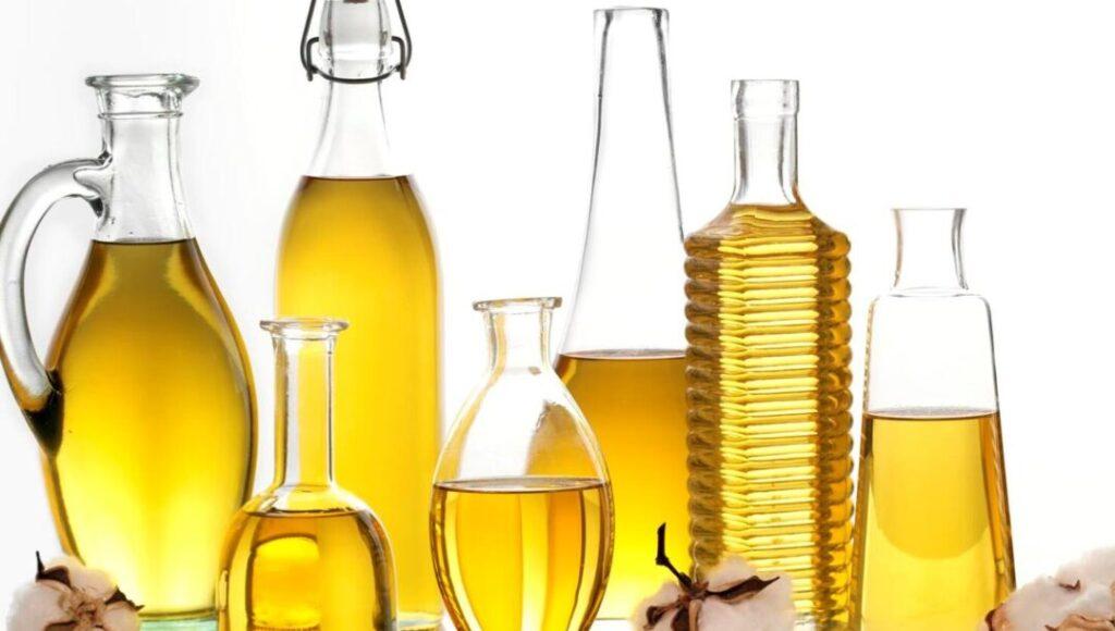 multiple bottles of oil