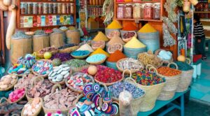 medicinal herbs store in morocco